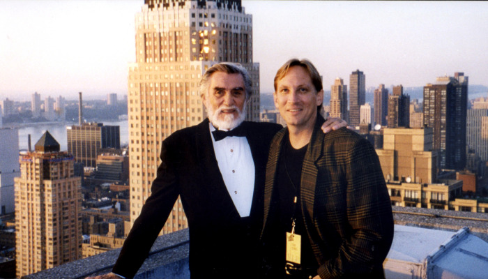 Tom Dowd and Fim Director Mark Moormann in New York City.